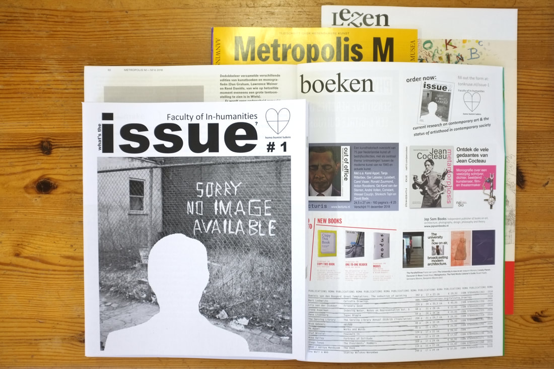 Issue 1 of the Faculty and ad in Metropolis M 6 2018